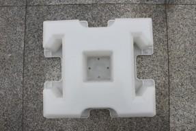 市政广场停车场工字连锁型植草砖模具