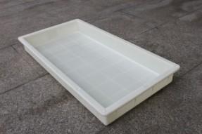 ABS塑料材质平底小方格路平石模具