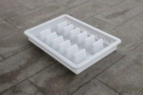 塑料PP材质水泥下水道污水井盖模具套装