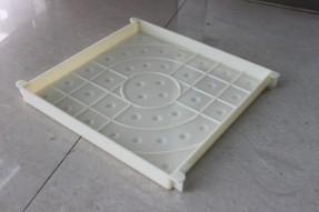 西班牙盲点彩砖塑料模盒