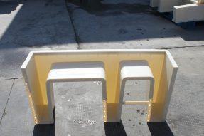 分体E型高铁电缆槽模具