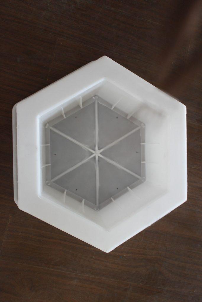 护坡六角塑料模具