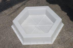 空心六角护坡塑料模具