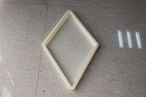 菱形水泥广场砖模具
