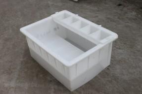 侧带平联体倒角路侧石塑料模具