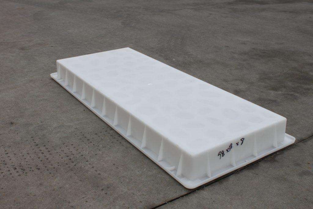 高速盖板塑料模具