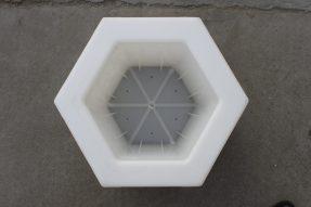 空心六角护坡砖塑料模具