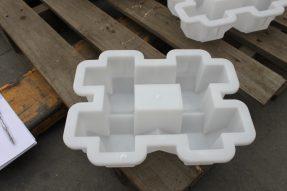 井字植草砖模具