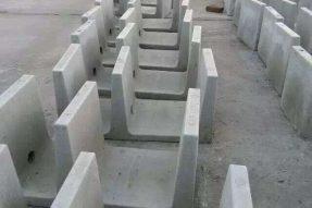 水泥电缆槽模具及电缆槽盖板模具施工案例