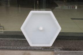 中孔六角铁路护坡砖模具