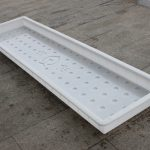 高铁沟盖板塑料模具