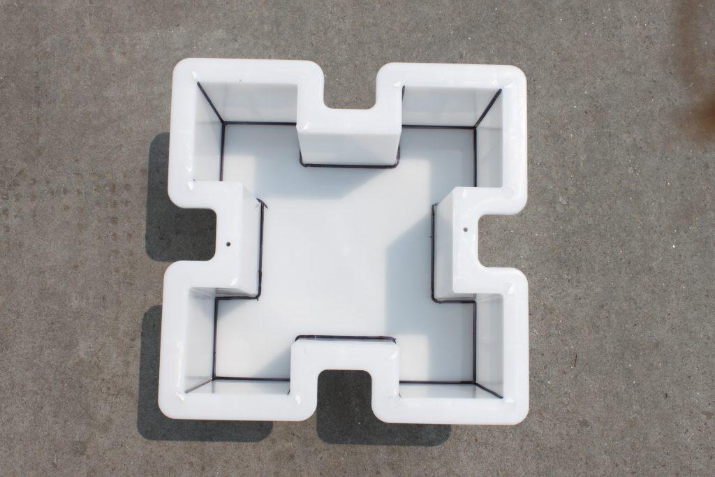 混凝土护坡砖模具