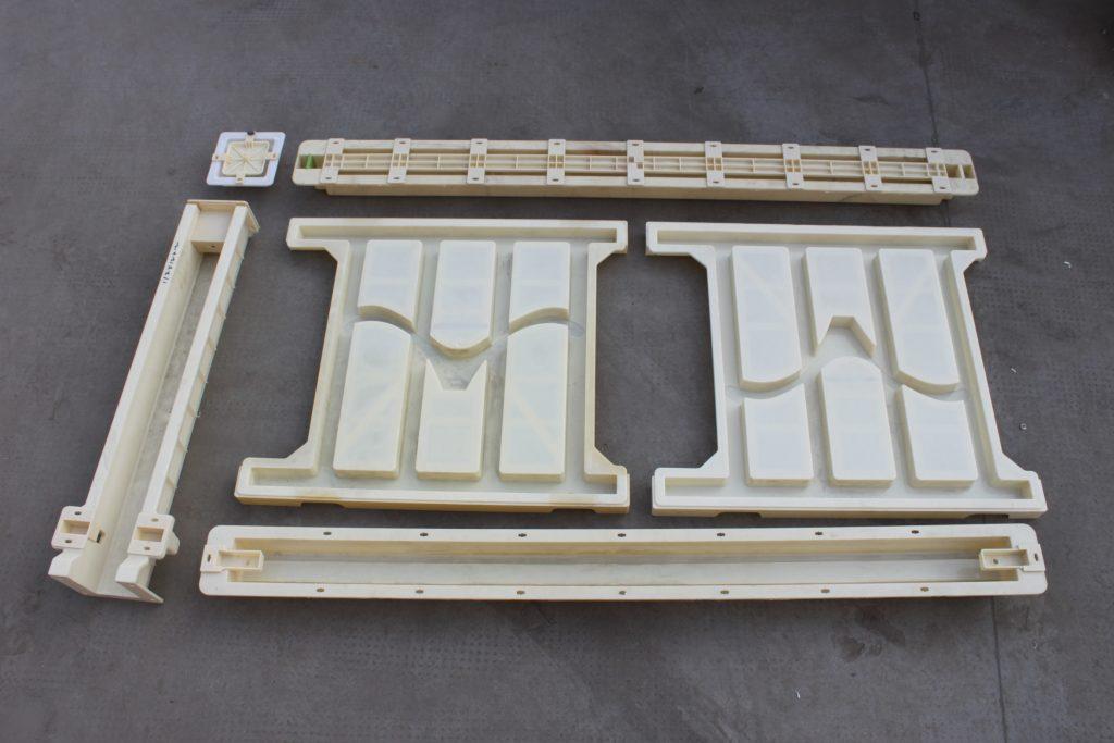 塑料高铁护栏模具