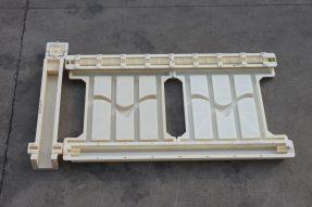 84型海鸥高速铁路护栏塑料模具