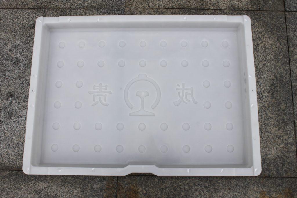 铁路电缆盖板塑料模具