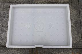 单边缺口成贵铁路电缆盖板塑料模具