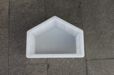 水泥五角护坡砖塑料模具