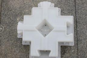 水库护坡塑料模具砼制品在护坡中的重要体现