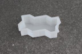 双波浪水泥透水彩砖模盒