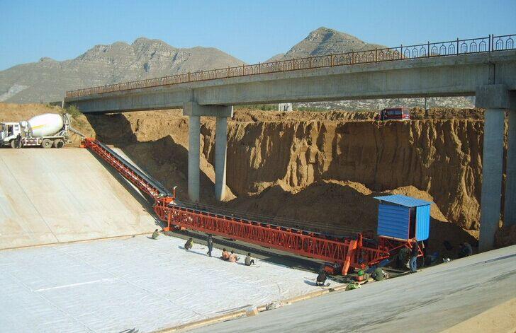 现浇河道护坡工程