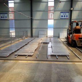 济青高铁预制盖板塑料模具中铁二十一局三分部施工现场