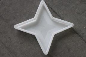 四角星塑料彩砖模盒