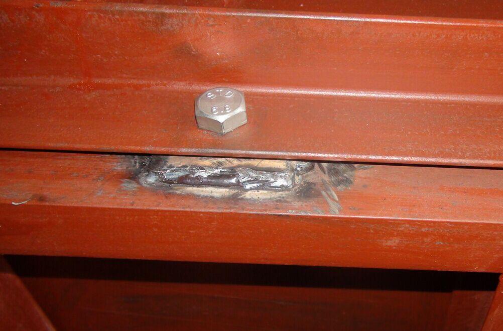钢模具焊接细节