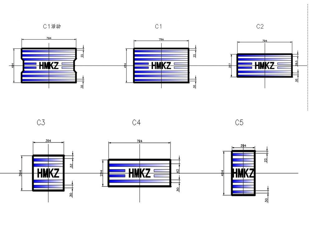 哈牡客专电缆槽盖板模具