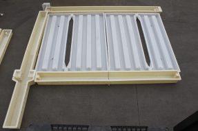 2.2米300单元高铁防护栅栏模具