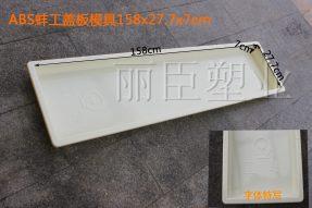 蚌工高铁盖板塑料模具