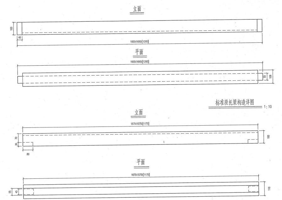 高铁护栏立柱模具