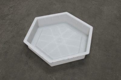 实心六角护坡砖塑料模具