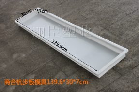 商合杭高铁水泥步板塑料模具