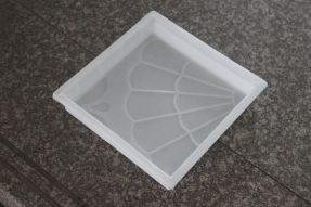 四合一菊花图案水泥彩砖模盒
