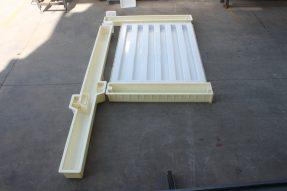 铁路路基护栏模具2.2米159单元