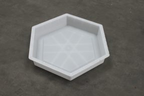 六角护坡塑料模具注塑成品变色问题及解决方案