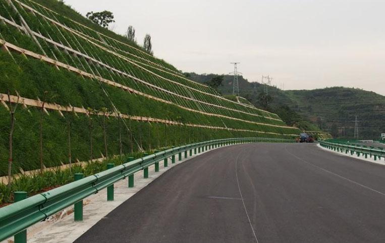 京沪高速护坡案例