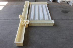 水泥路基护栏塑料模具2.2米159单元