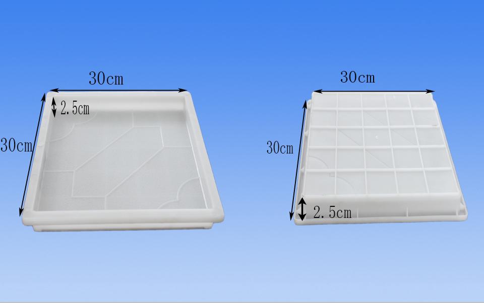 彩砖模盒尺寸