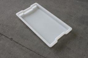 水泥沟盖板塑料模具缺口设计