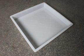 水泥路平石模具带菱形防滑设计