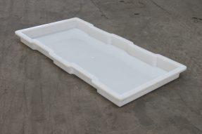 下水沟盖板塑料模具双缺口样式