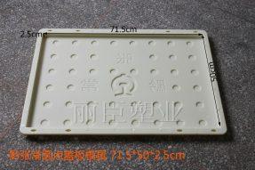 黔张常圆点铁标水泥盖板模具