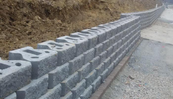 浆砌块石整体护坡