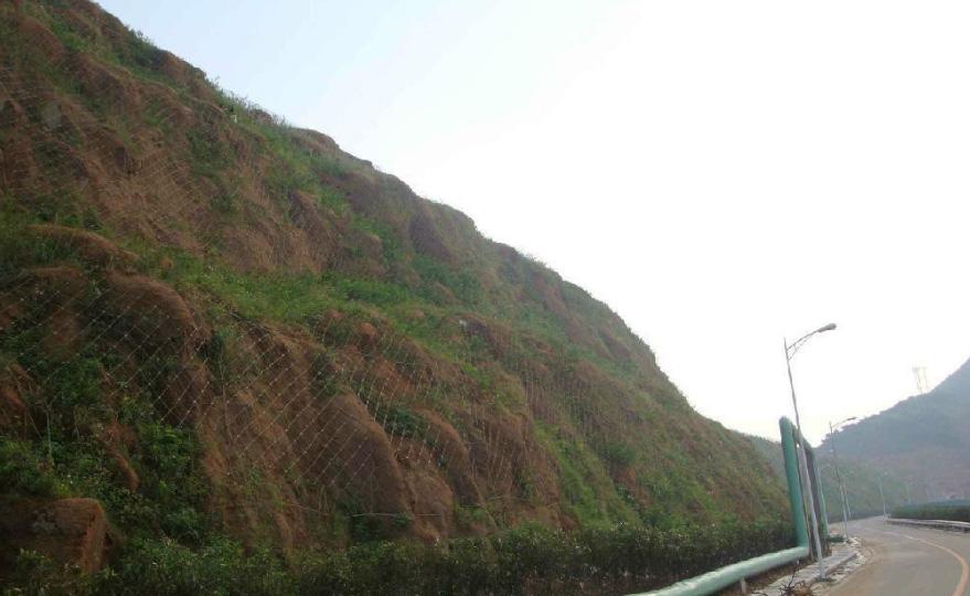 土质边坡防护
