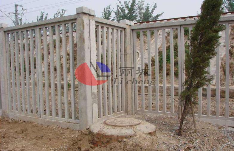 防护栅栏水泥制成品