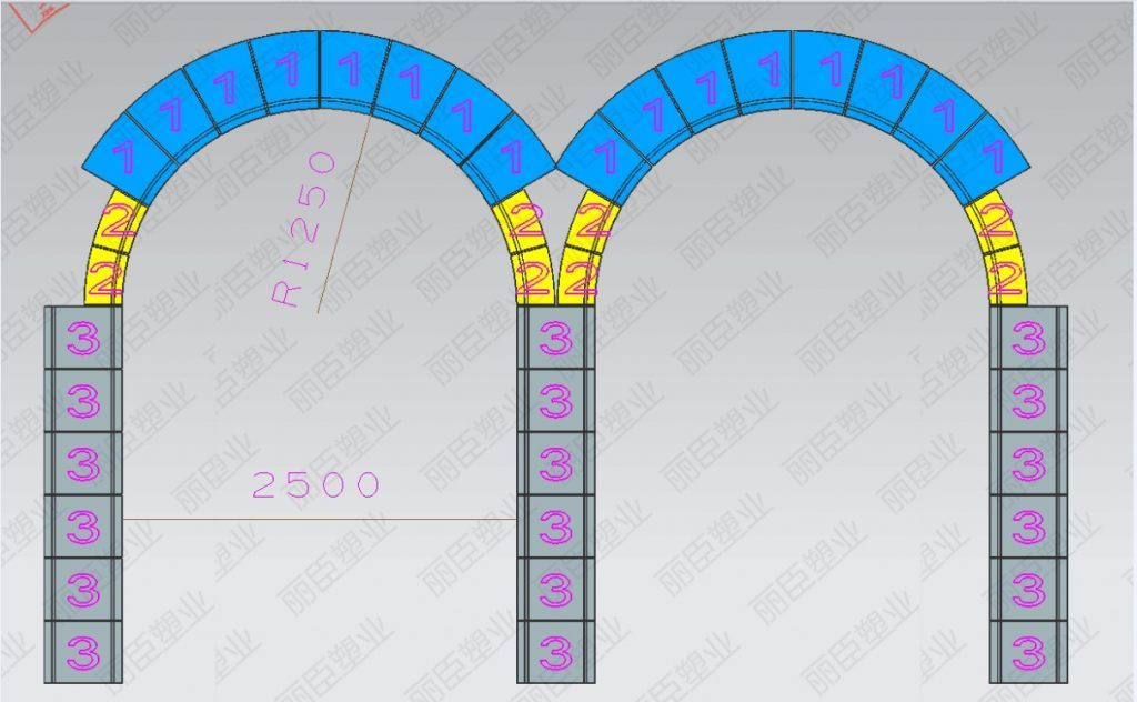 拱形护坡骨架