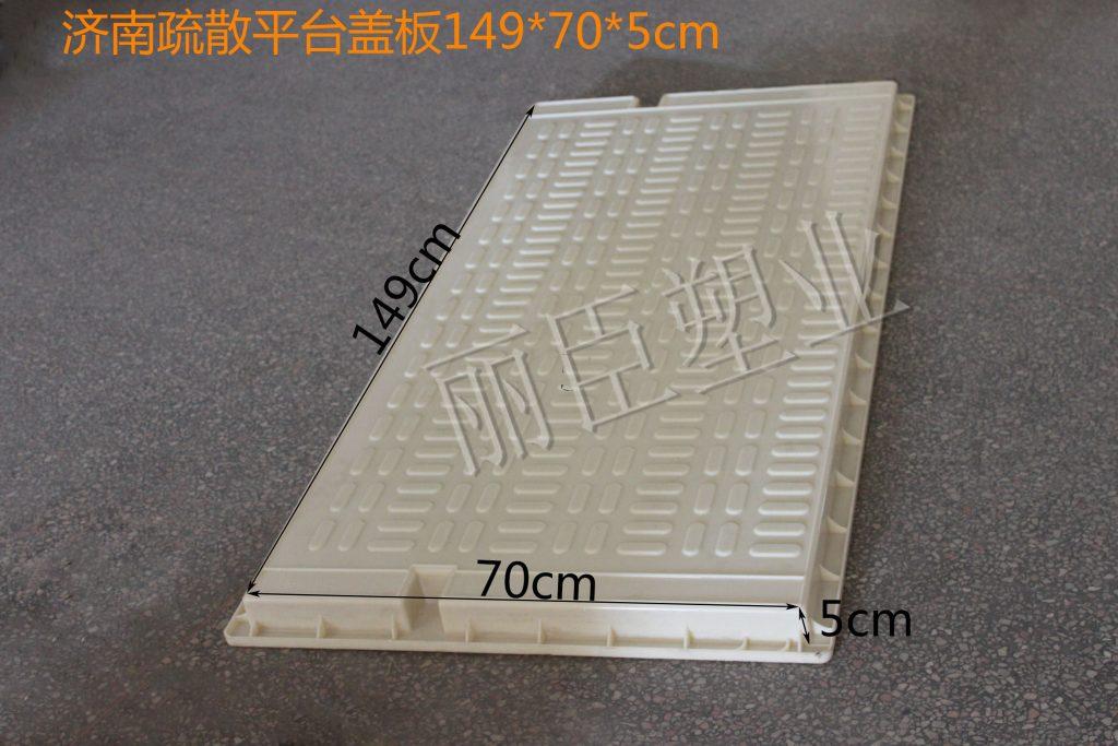济南疏散平台盖板塑模