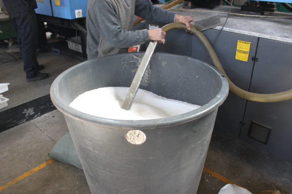 路缘石模具用料的原料桶