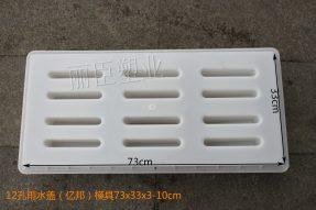 亿邦十二孔雨水盖板模具